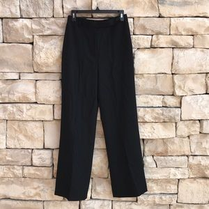 J. Crew Lined 100% wool Black Dress Pants 6